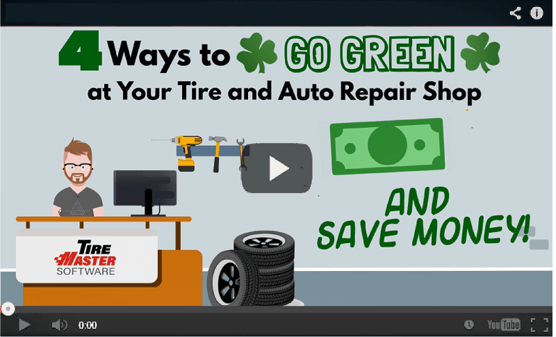 4 Ways to Go Green for your Tire & Auto Reapir Shop